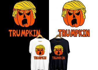 Trumpkin T-Shirt Design for Commercial Use