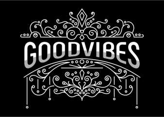 Good Vibes t shirt design to buy