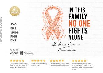 KIDNEY CANCER awareness buy t shirt design