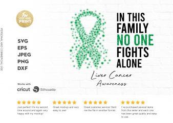 LIVER CANCER awareness buy t shirt design for commercial use