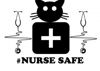 nurse safe design covid-19 t shirt design to buy