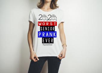WORST SENIOR 2020 t shirt design for purchase