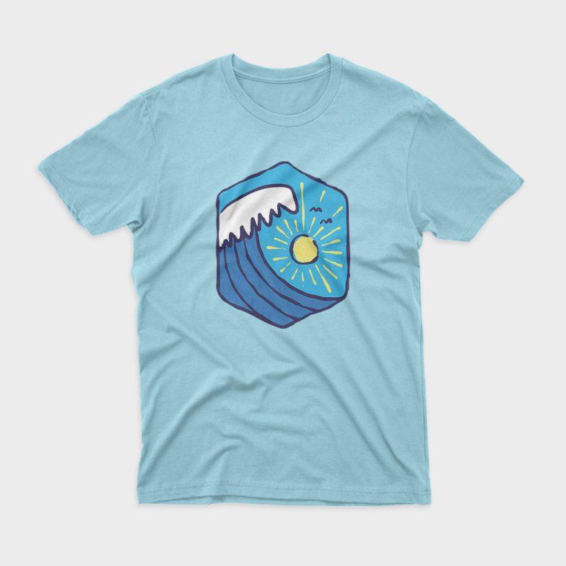 Great Wave buy t shirt design