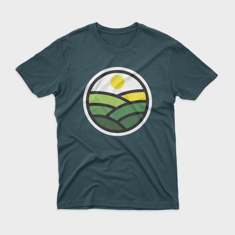 Nature Line buy t shirt design