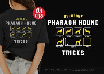 Stubborn pharaoh hound tricks buy t shirt design artwork