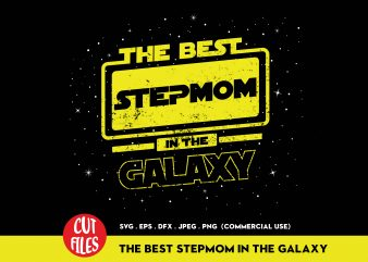 The Best Stepmom In The World t shirt design for purchase
