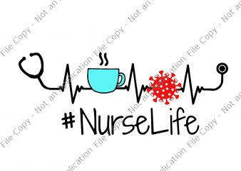 Nurse 2020 svg, nurse life svg, nurse life, nurse 2020 t-shirt design for commercial use