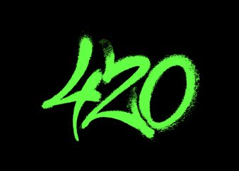 420 weed t shirt design for purchase