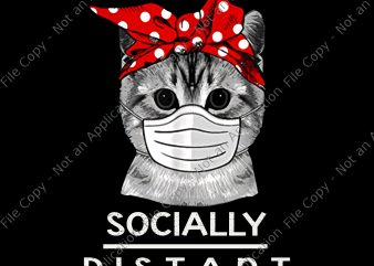 Cat facemask png, Cat facemask, Social Distance Virus Prevention Socially Distant Cat Lover png, Social Distance Virus Prevention Socially Distant Cat Lover, cat Social Distance png, cat Social Distance graphic t-shirt design
