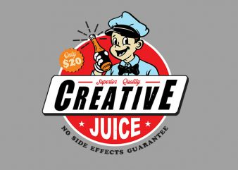 creative juice shirt design png print ready t shirt design