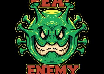 real enemy tshirt design