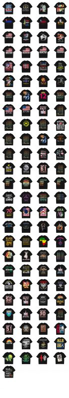99 designs bundle part 1 t shirt designs for sale