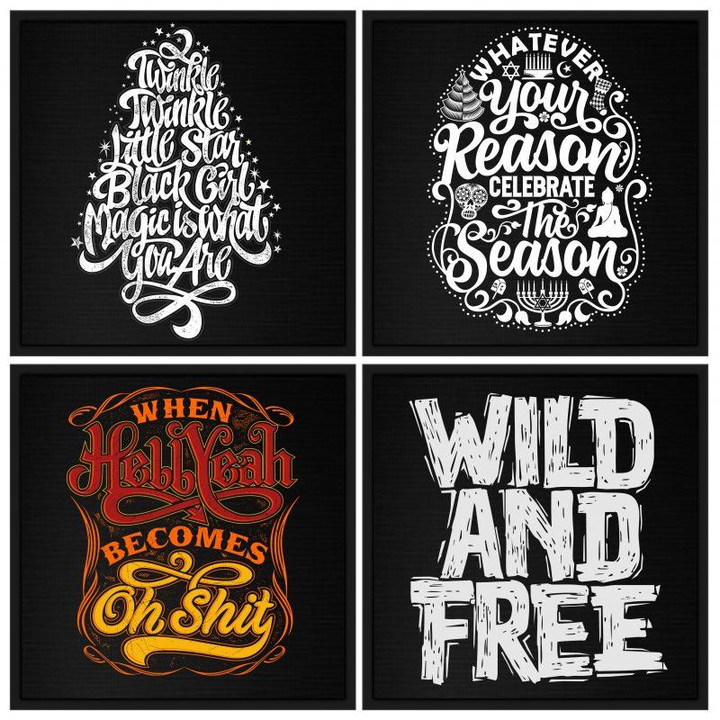 Mix 60 Designs Bundle collections buy tshirt design