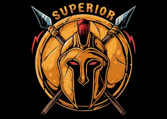 superior sparta t shirt design for download