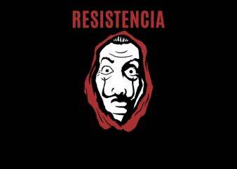 Resistance t shirt design for sale