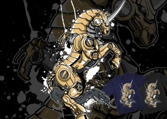VEGASTEAMPUNK MECHA Myth print ready t shirt design