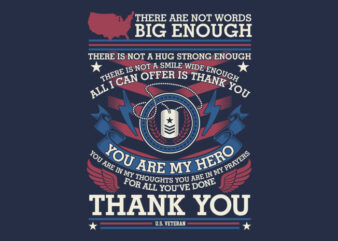 Thank You Veteran – Veteran Illustration Design SVG buy t shirt design artwork