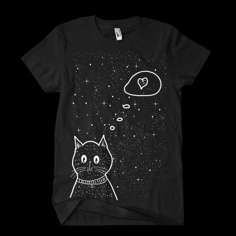 BIG CAT BUNDLE commercial use t shirt designs