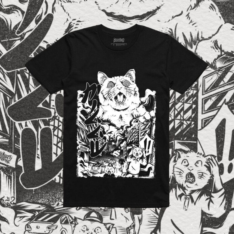 Catvid 20 vs Covid 19 T Shirt Design