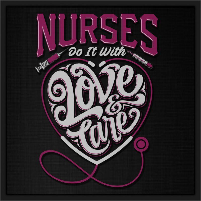 Big Sale Nurse Theme graphic T-shirts t shirt design for teespring