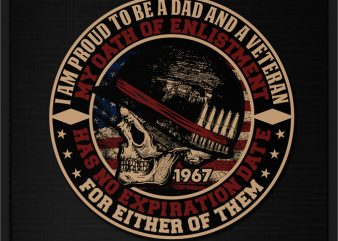 I AM PROUD TO BE A DAD AND A VETERAN buy t shirt design