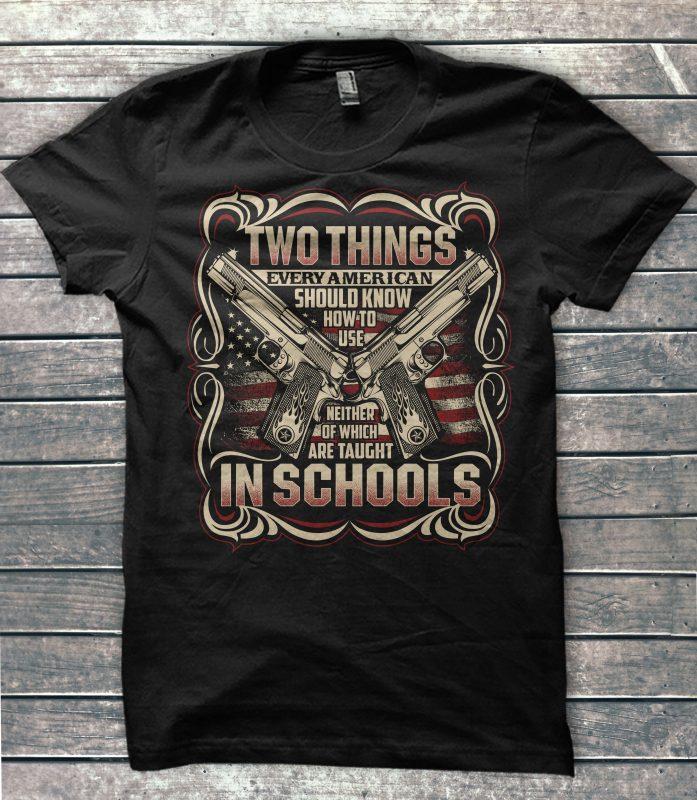 Big Sale American Veteran Bundle t shirt design for printify