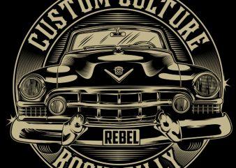 CUSTOM CULTURE t-shirt design for sale