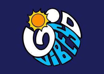 good vibes sunshine t shirt design to buy