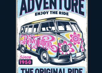 Life An Adventure Enjoy The Ride design for t shirt shirt design png