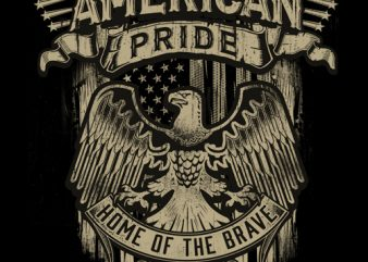 American Pride – t shirt design for purchase