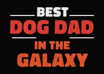 Dog Dad Galaxy t shirt design to buy