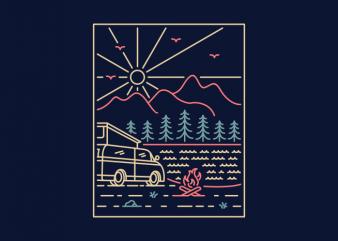 Camper 1 buy t shirt design artwork