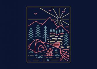 Camper 3 t shirt design for purchase