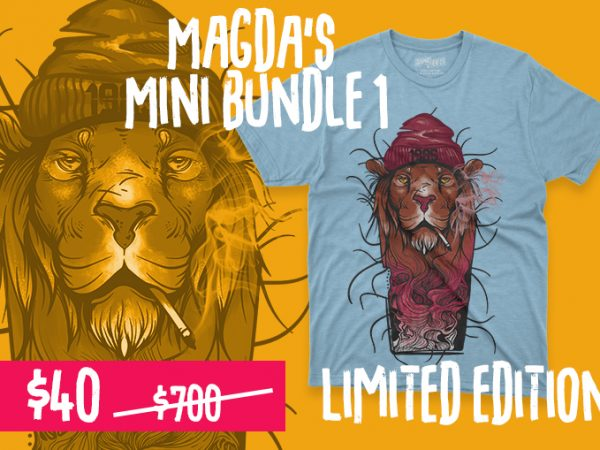 Magda's Mini Bundle 1 t shirt designs for sale
