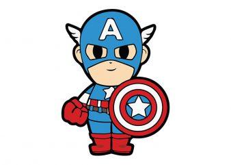 Vintage Captain America The Super Hero Vintage Captain America Cartoon T Shirt Design For Commercial Use Buy T Shirt Designs