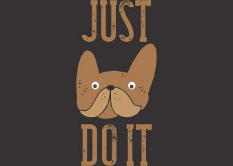 Just Do It graphic t-shirt design