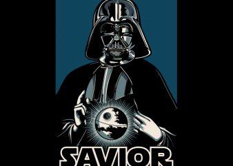 SAVIOR t-shirt design for sale