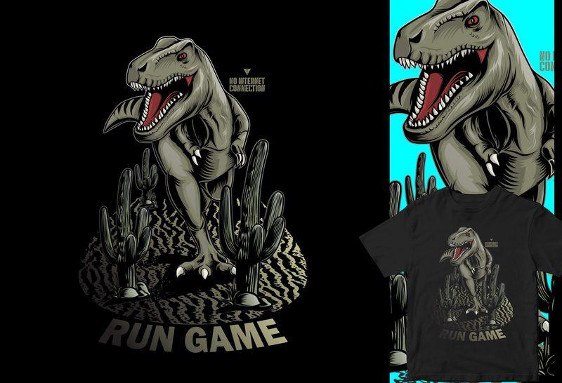 No internet game, funny dinosaur buy t shirt design - Buy ...