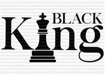Black King svg, african american svg , black man svg, black history svg, father's day svg, black father svg, files for cricut silhouette t shirt design for purchase