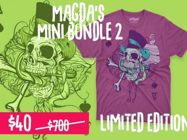 Magda's mini bundle 2 t shirt designs for sale