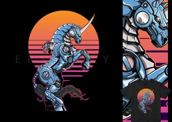 VEGA STEAMPUNK MECHA Myth japan graphic t-shirt design