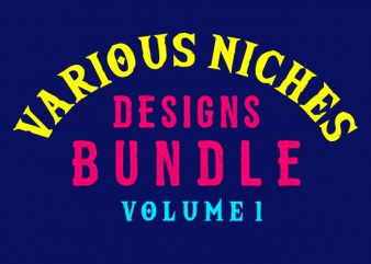 Various Niches Designs Bundle Volume 1