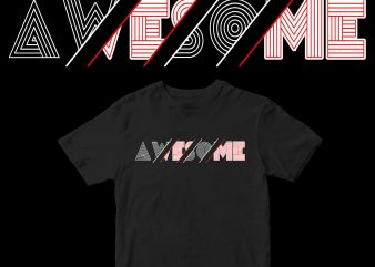 awesome graphic t-shirt design