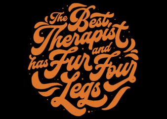 best therapist t shirt design template