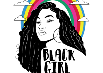 Black Girl Magic vector svg, png, ai t shirt design to buy