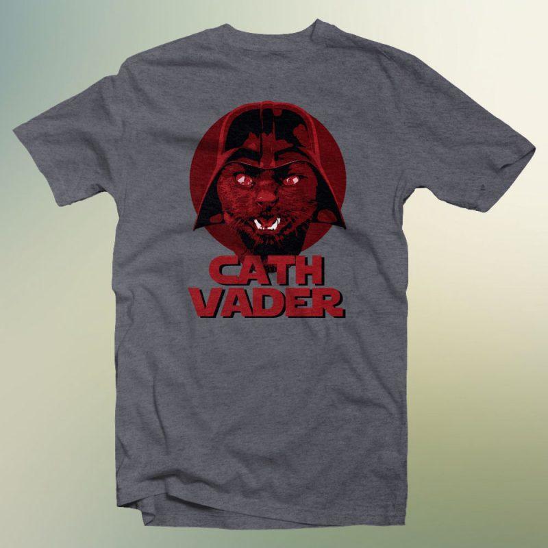cath vader ready made tshirt design