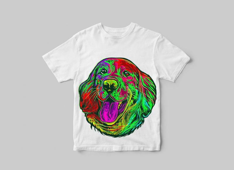 Happy dog #1 buy t shirt design