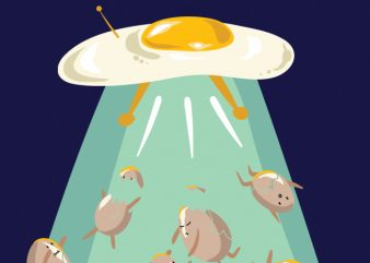 Aliens do eggsist buy t shirt design artwork
