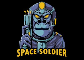 Space soldier buy t shirt design artwork
