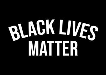 black lives matter graphic t-shirt design